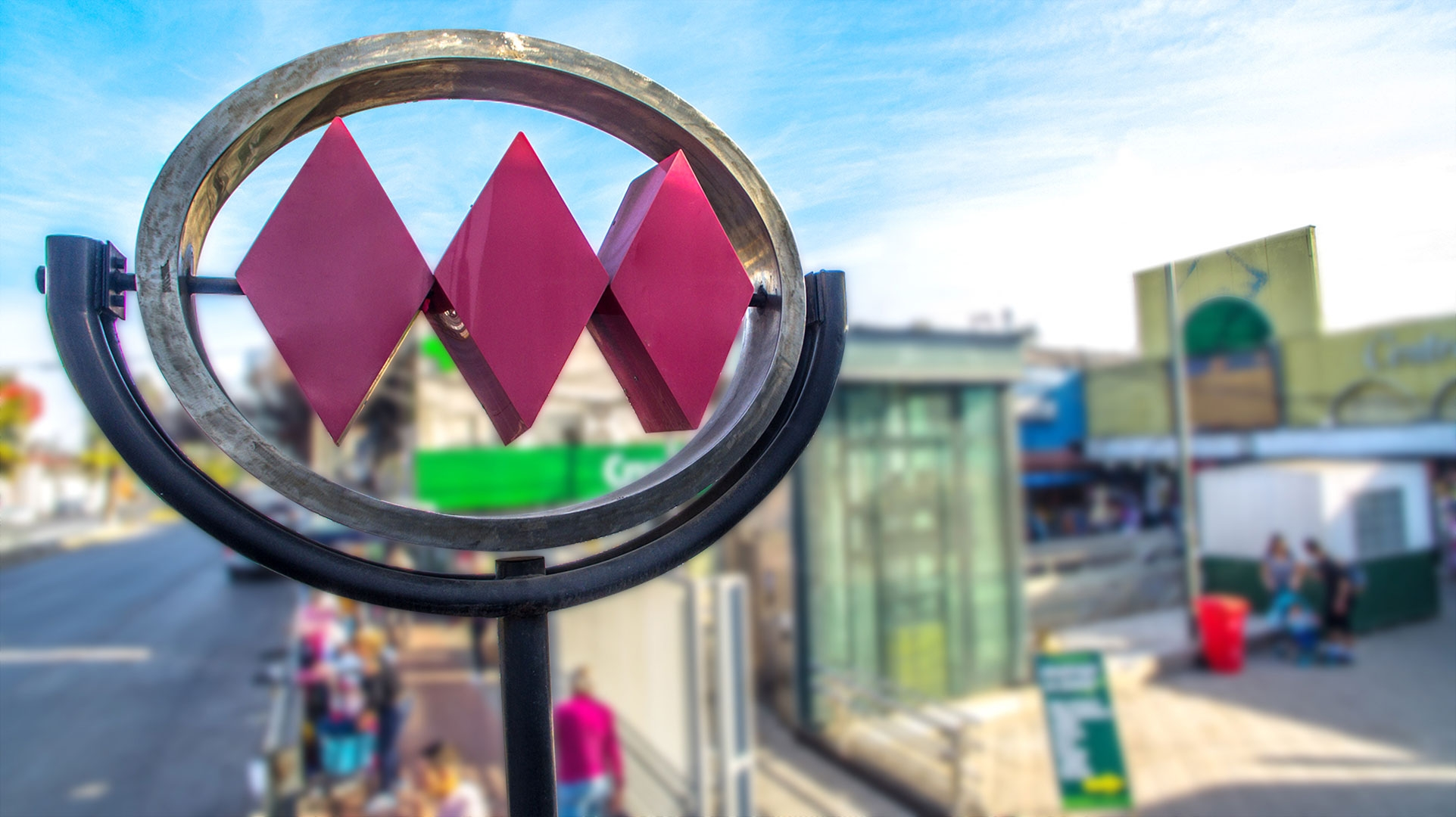 Estación Metro Lo Ovalle